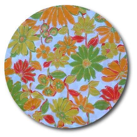 Circle pin board 'sunshine'