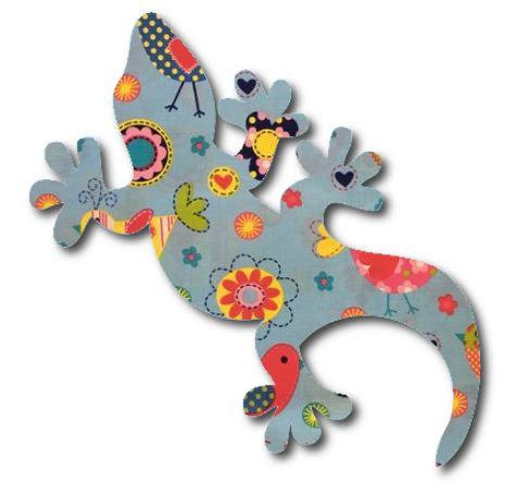 Gecko pin board - 'happy place'