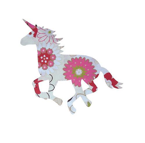 Unicorn or horse pin board - 'spring has sprung'