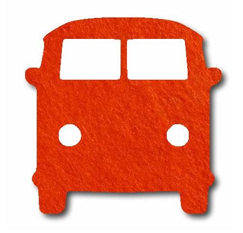 Kombi pin board - 'tangerine'
