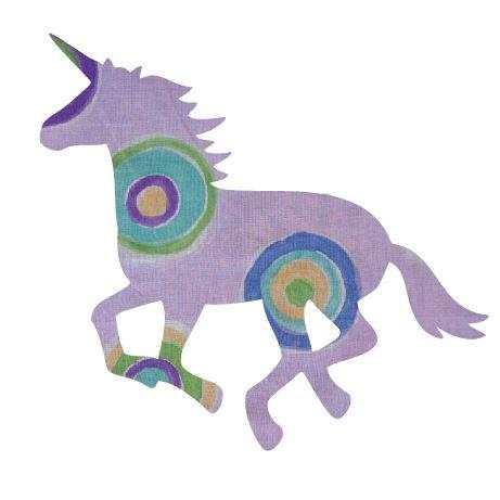 Unicorn or horse pin board - 'lilac b'