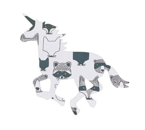 Unicorn or horse pin board - 'critters'
