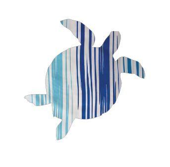 Turtle pin board - 'blue streak'