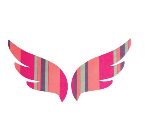 Pair of wings pin board 'encounter'