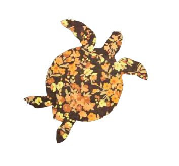 Turtle pin board - 'spring fever'