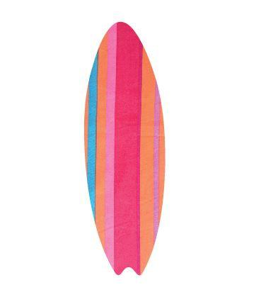 Surfboard pin board - 'candy cane'