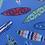 Thumbnail: Surfboard pin board - 'surferini sky'