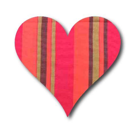 Heart pin board - 'encounter'