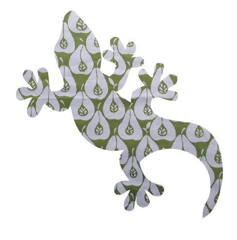 Gecko pin board - 'pear party'