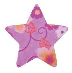 Star pin board - 'wild flowers'