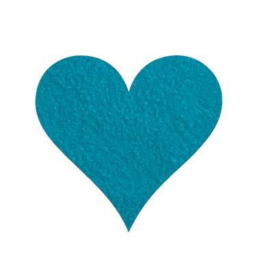 Heart pin board - 'teal'