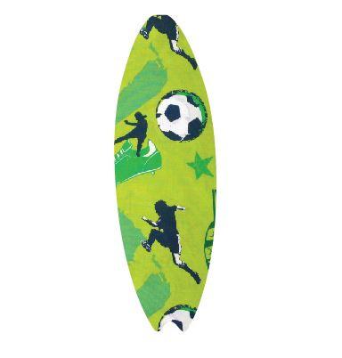 Surfboard pin board - 'kick it'