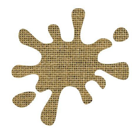 Splat pin board - 'sack'