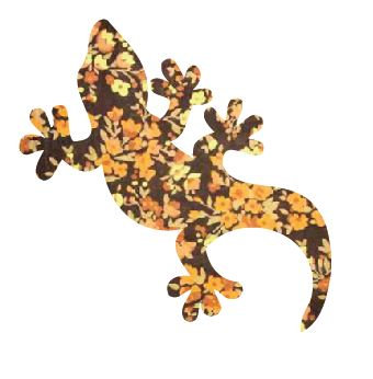 Gecko pin board - 'spring fever'