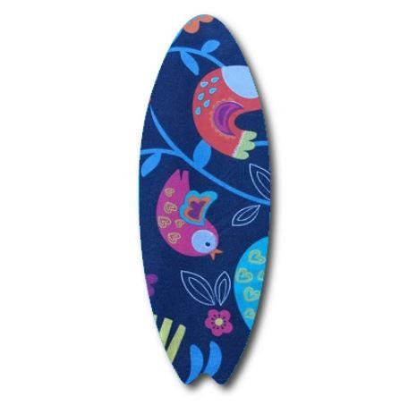 Surfboard pin board - 'birdie'