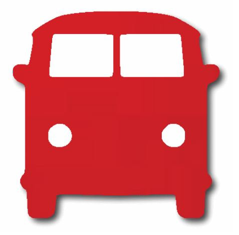 Kombi pin board - 'red'