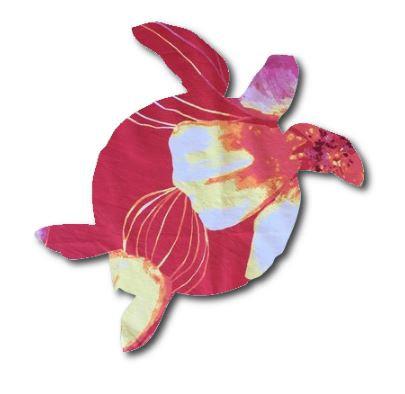 Turtle pin board - 'bloom'
