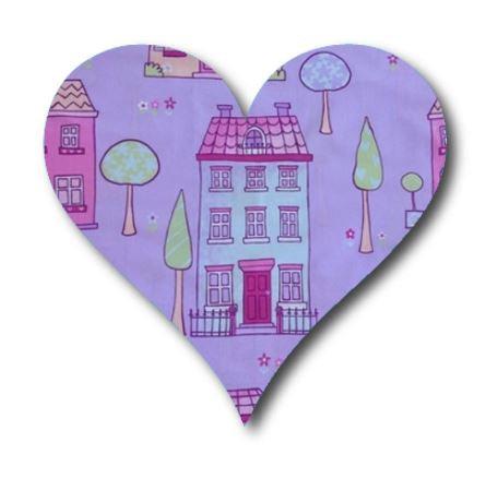 Heart pin board - 'chalet'