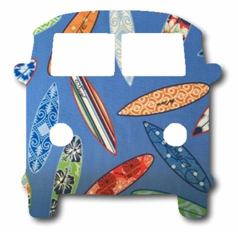 Kombi pin board - 'surferini sky'