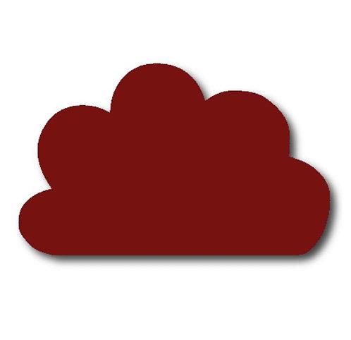 Cloud pin board - 'burgundy'