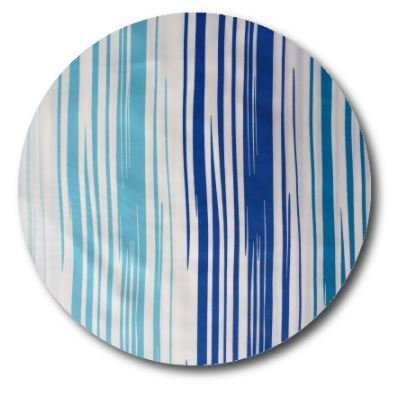 Circle pin board 'blue streak'
