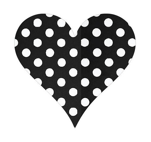 Heart pin board - 'dotty'