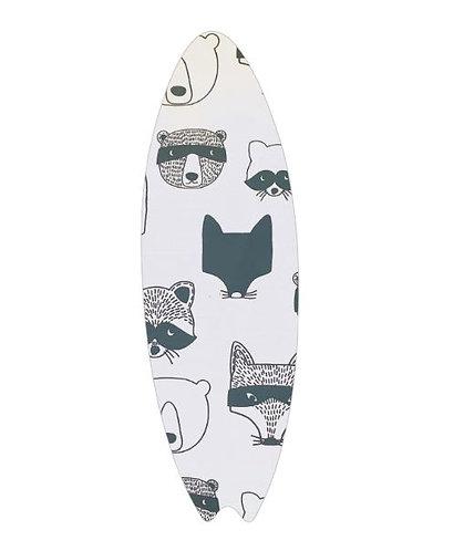 Surfboard pin board - 'critters'