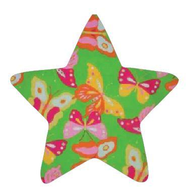 Star pin board - 'butterflies'