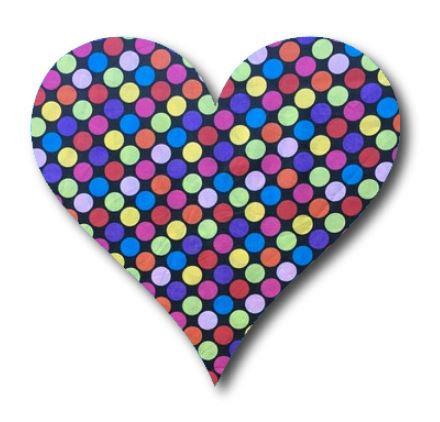Heart pin board - 'bling'