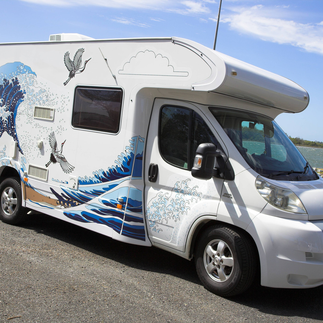 creative design for motorhome