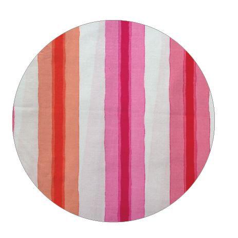 Circle pin board 'pop stripe'