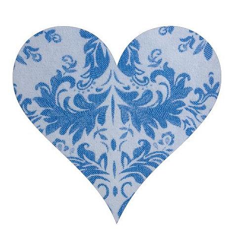Heart pin board - 'china'