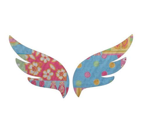 Pair of wings pin board 'beach girl'