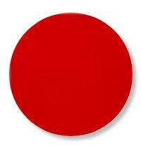 Circle pin board 'red'