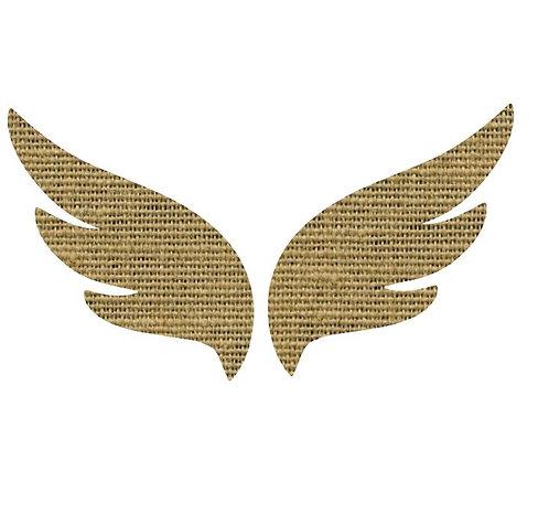 Pair of wings pin board 'sack'