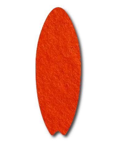Surfboard pin board - 'tangerine'