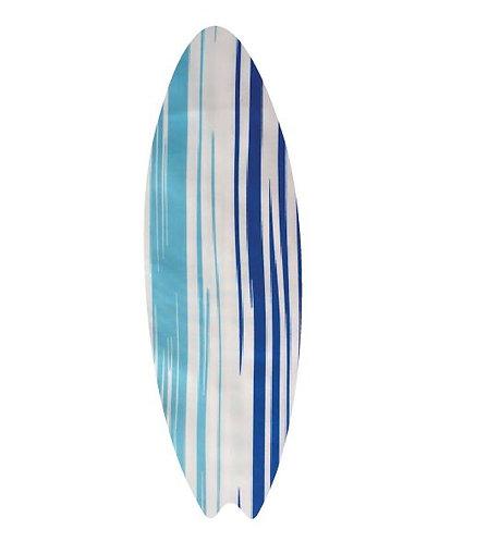 Surfboard pin board - 'blue streak'