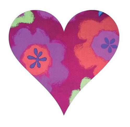Heart pin board - 'gerbie'