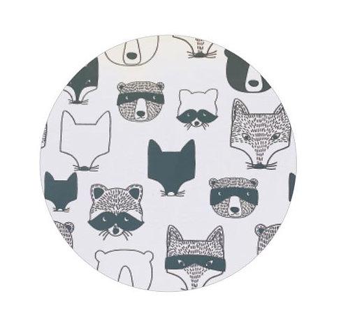 Circle pin board 'critters'