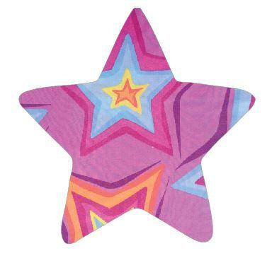 Star pin board - 'star burst'