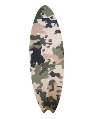 Surfboard pin board - 'army issue'
