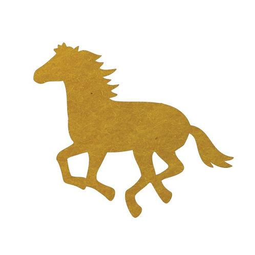 Unicorn or horse pin board - 'yellow'