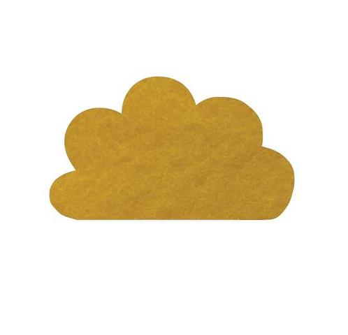 Cloud pin board - 'yellow'