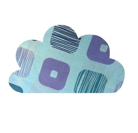 Cloud pin board - 'squares'