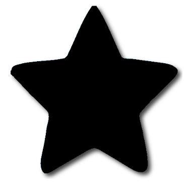 Star pin board - 'black'