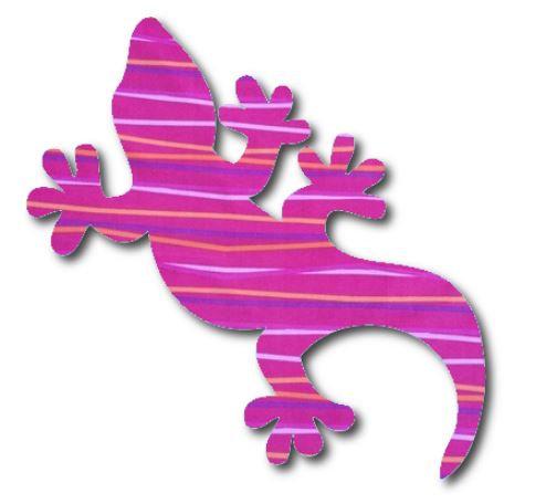 Gecko pin board - 'candy'