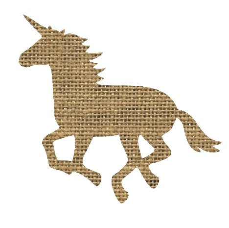 Unicorn or horse pin board - 'sack'