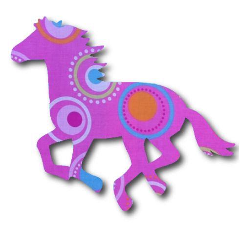 Unicorn or horse pin board - 'dot'