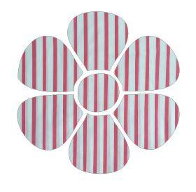 Flower pin board - 'p line'