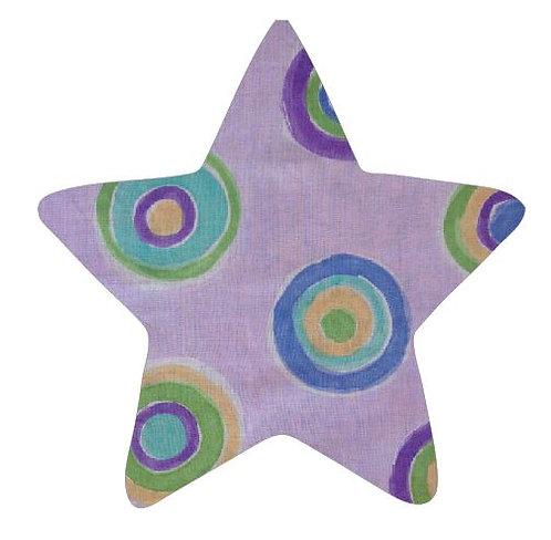 Star pin board - 'lilac b'